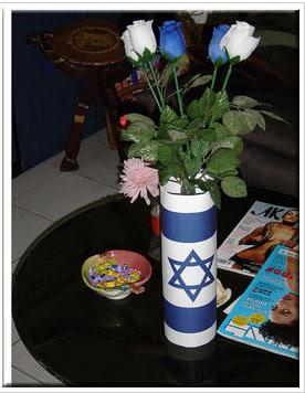 Vase Magen David