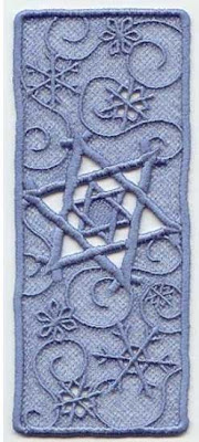 Bookmark-Star-of-David