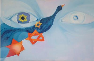 zion-israeli art-jewish-star