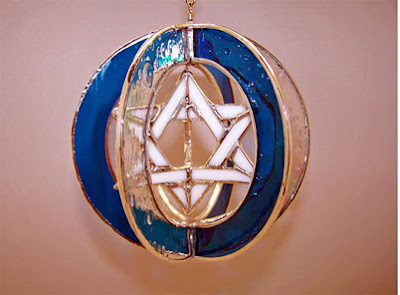 Glass-Work-jewish-star