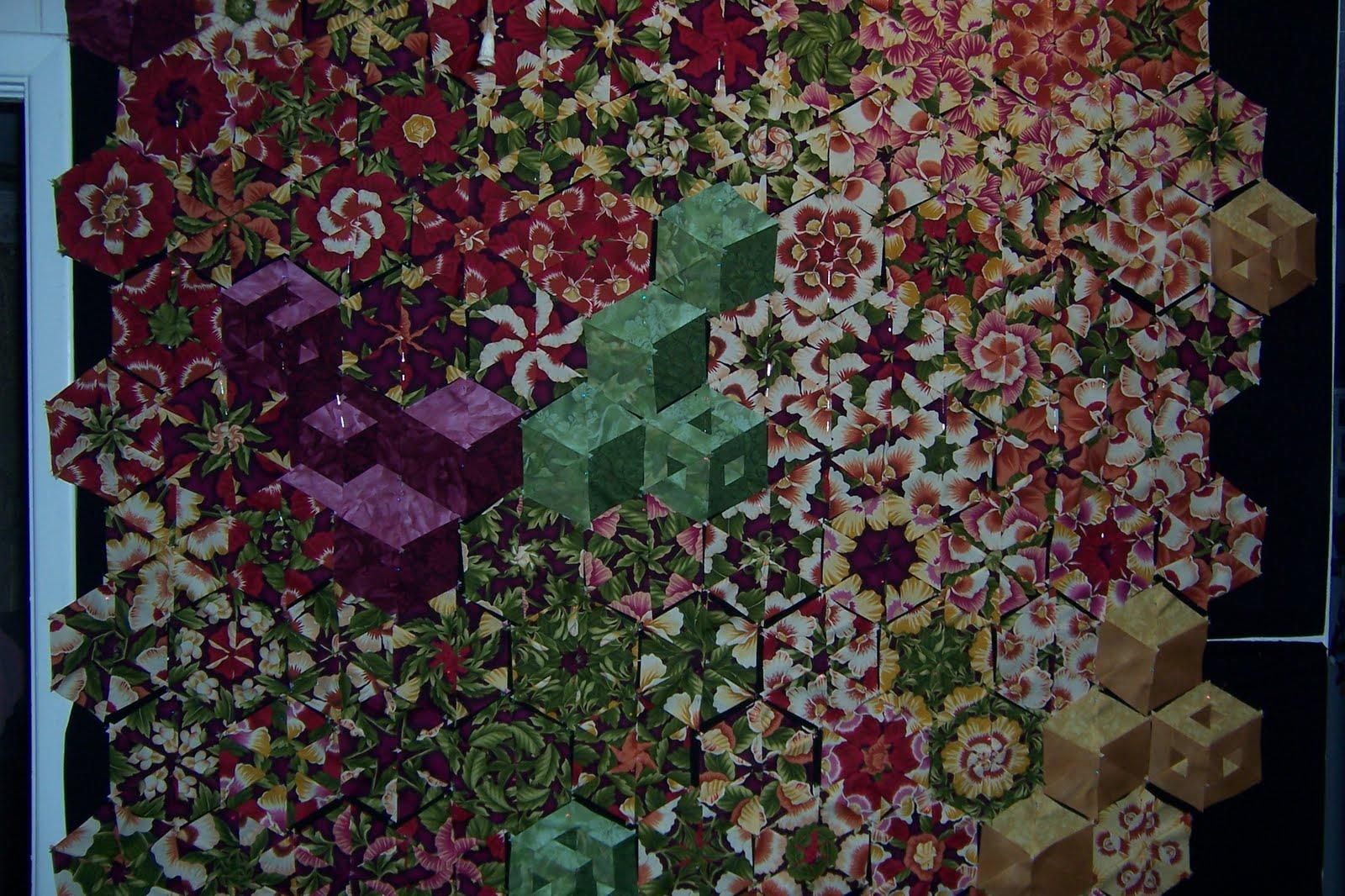 Catzs Musings: My One Block Wonder- draft quilt