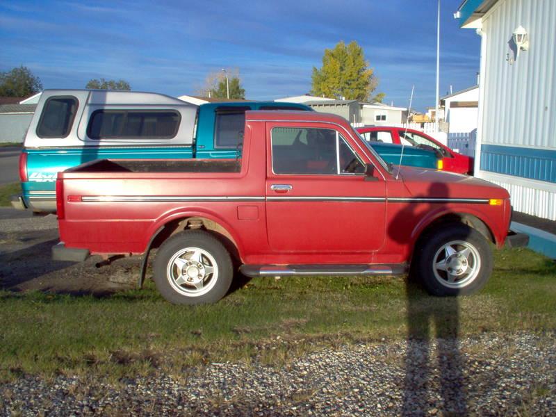 Just A Car Geek: 1992 Lada Niva Pickup Truck