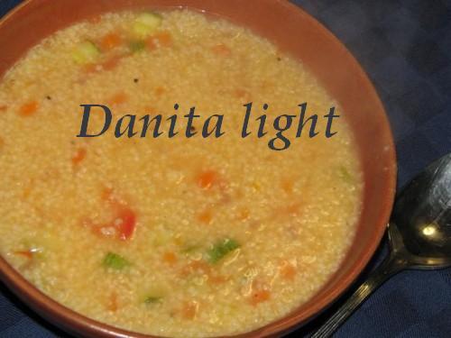 Le leccornie di danita minestra di miglio for Cucinare miglio