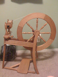 My first spinning wheel