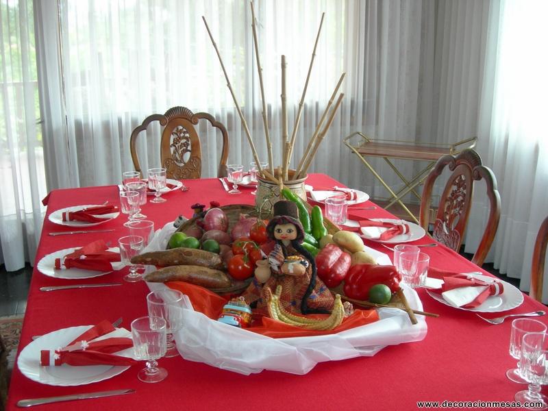 Decoracion mueble sofa decoracion de mesas navidenas - Mesas navidenas decoracion ...