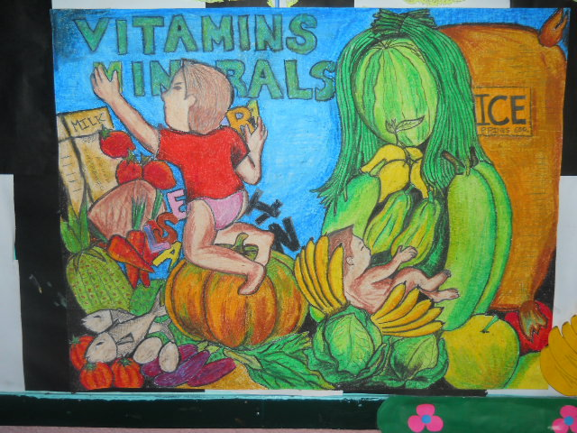 Nutrition Month Poster Making http://philippinenutritionmonth.blogspot.com/