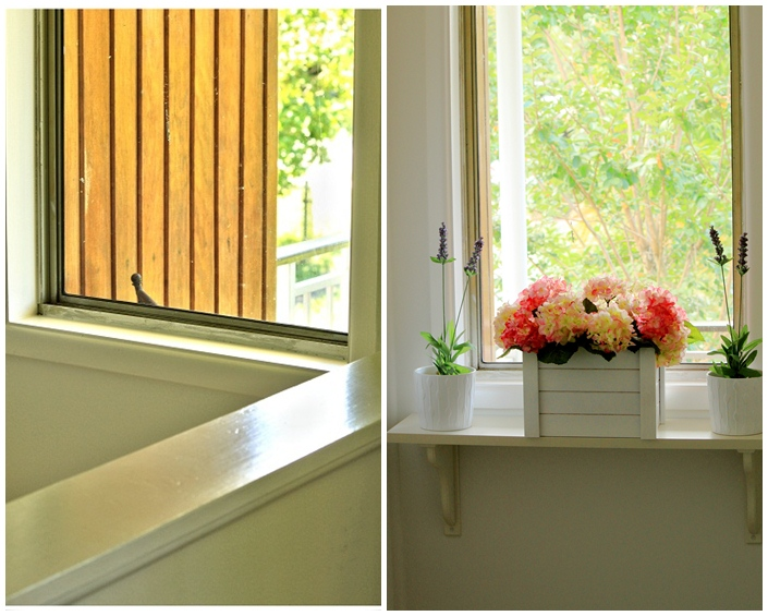 D.I.Y Time: How To Decorate A Stairway Window