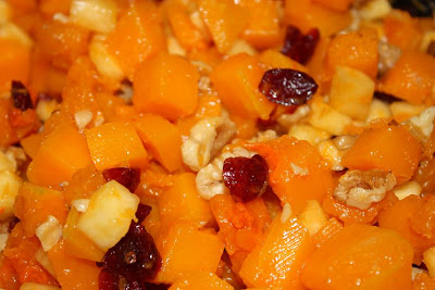 ... : Butternut Squash, Pineapple, Dried Cranberries and Walnut Salad