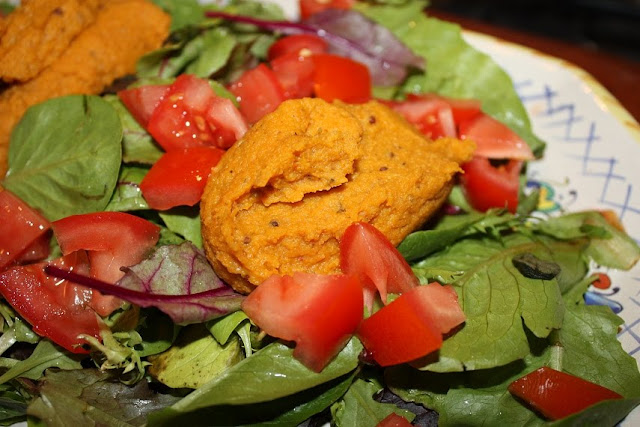 Curried Hummus – No Added Fat