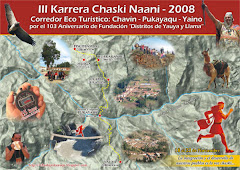 III KARRERA CHASKI NAANI - Noviembre 2008