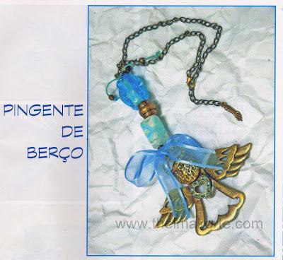 PINGENTE PARA BERÇO DE THELMA KORTE