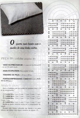 RECEITA DE COLCHA EM CROCHE