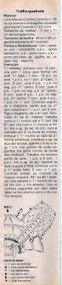 RECEITA DE TOALHA RENDADA EM CROCHE
