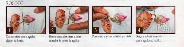 PONTO ROCOCÓ PASSO A PASSO
