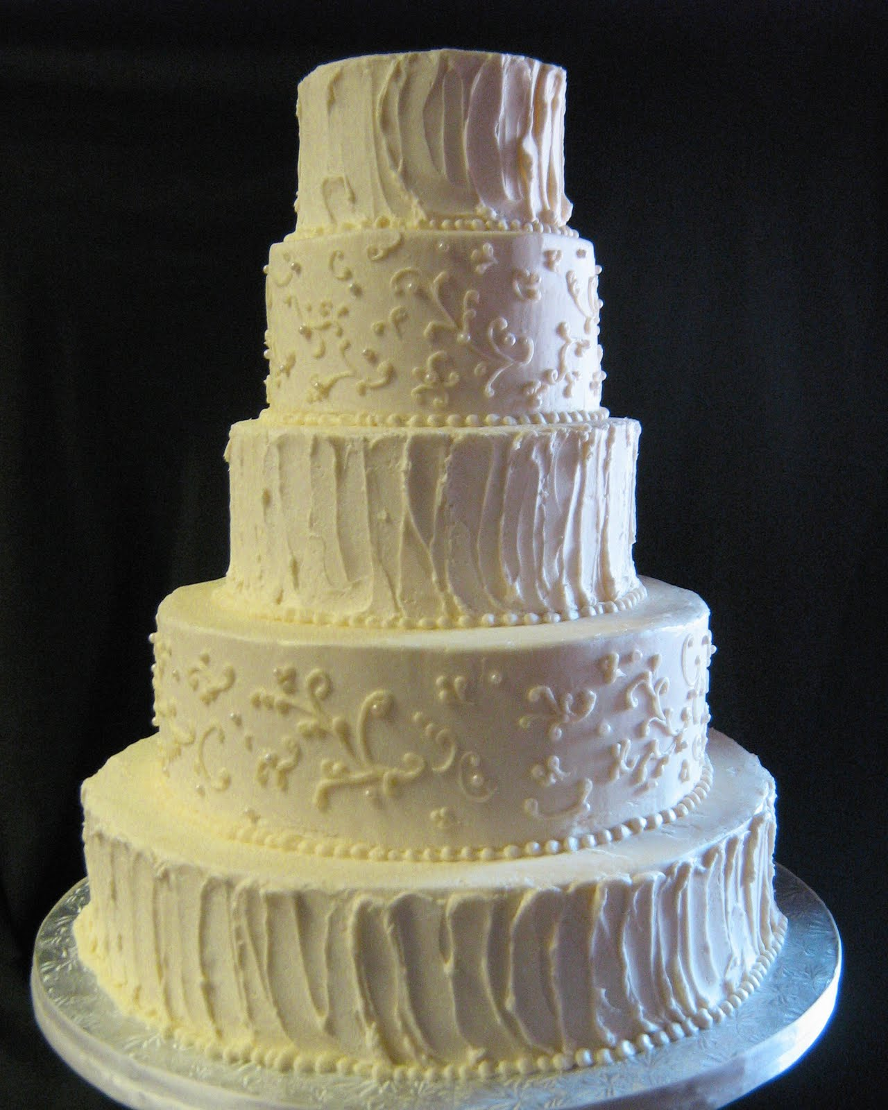 simple white buttercream wedding cake butter cream wedding cakes
