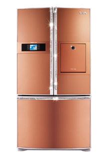 Copper Kitchen Appliances Refrigerator Jenn Air
