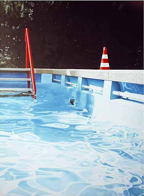 Pools Painted White
