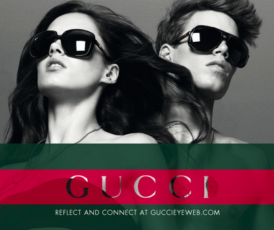 To learn about the Gucci sunglasses site, go here.