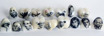 Art With Bite Tooth Tattoos Mouth Molds With Minifigs