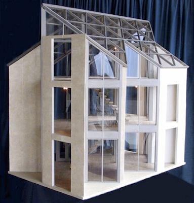 Mid Century Modern Miniature The Emerson House By Brinca