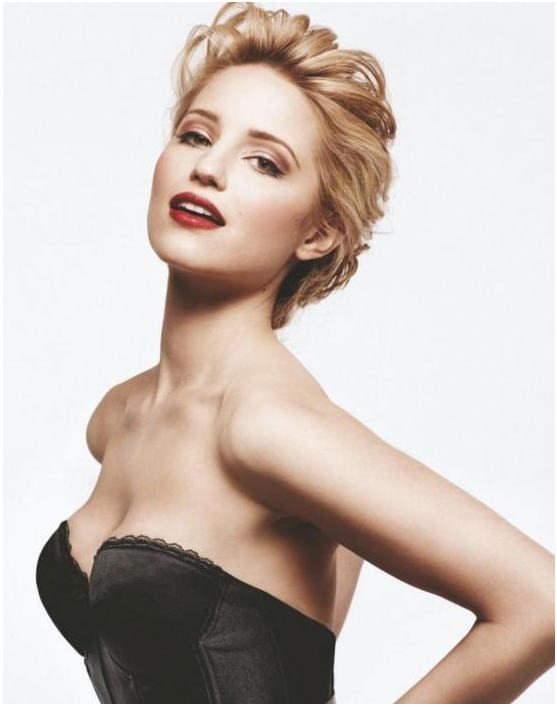 glee dianna agron wallpaper. glee dianna agron tattoo. lea