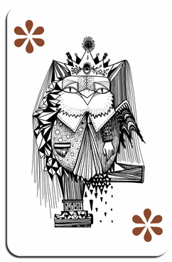 If It's Hip, It's Here (Archives): MADDECK Playing Cards ... King Of Diamonds Dancers