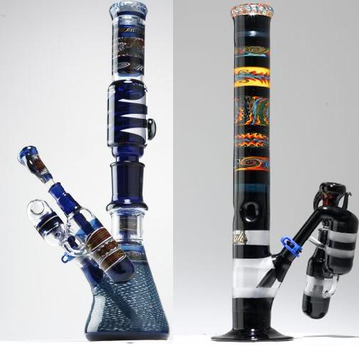 Custom Blown Glass Bongs