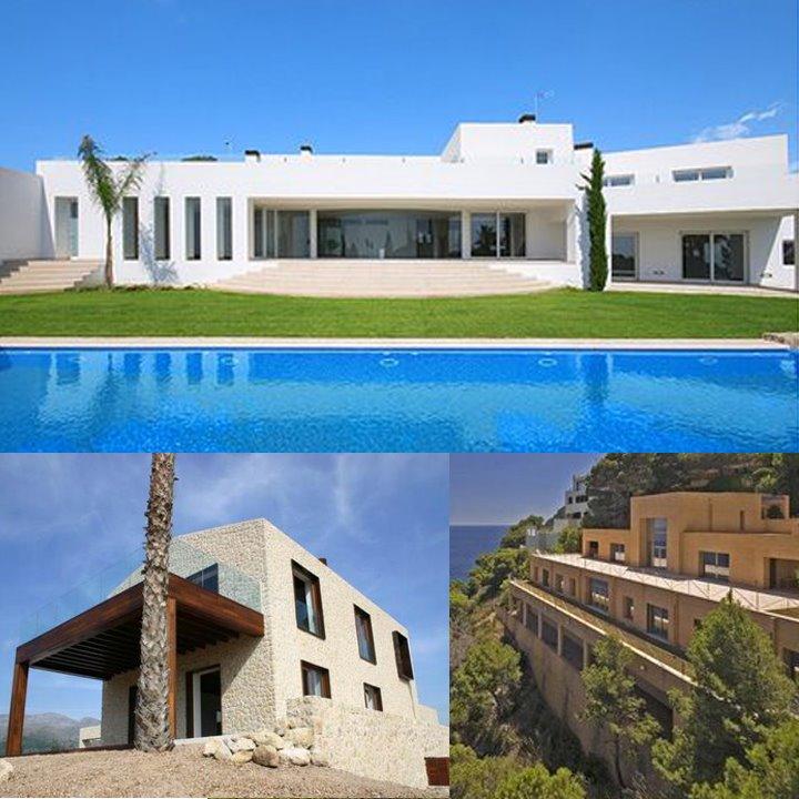 Modern In Mallorca 3 Minimalist Mediterranean Mansions On The