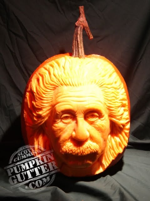 Scott cummins doesn t carve pumpkins he sculpts them if