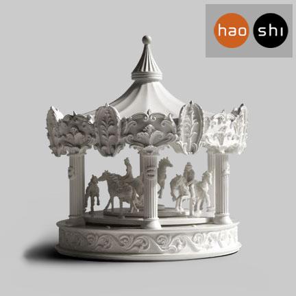Merveilleux A Carousel Clock U0026 New Animal Jewelry From Hao Shi Design