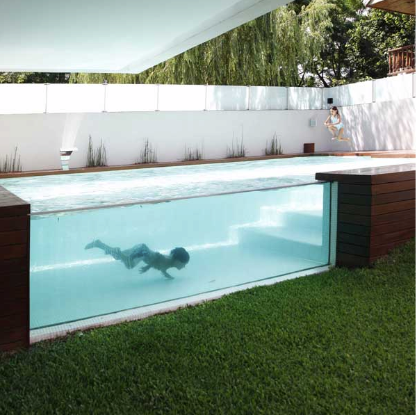 Cool Backyard Pools : pool swimming at the casa one darn cool pool swimming