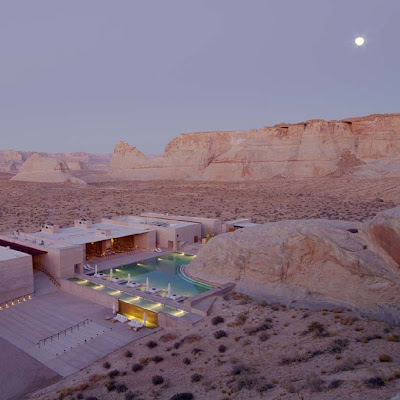Daily update interior house design the amangiri spa for Design hotel utah