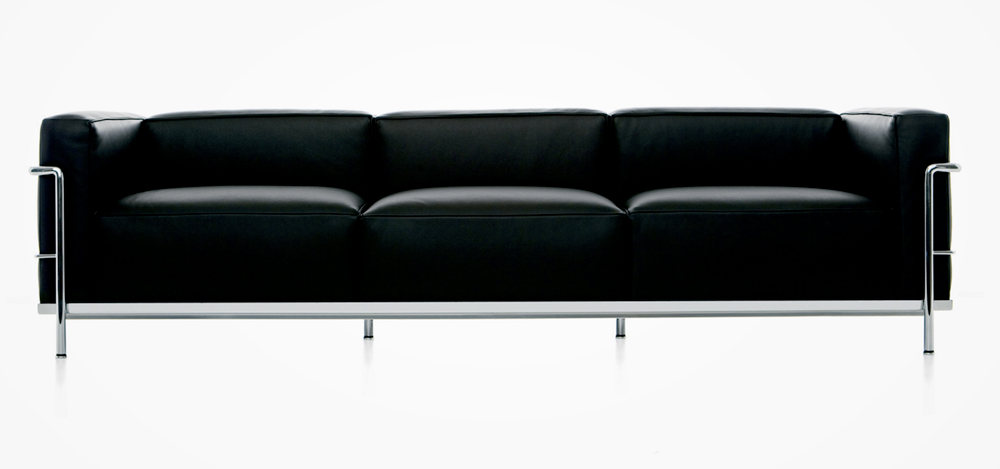 le corbusier classics lc2 lc3 and lc4 get colorful courtesy of cassina if it 39 s hip it 39 s here. Black Bedroom Furniture Sets. Home Design Ideas