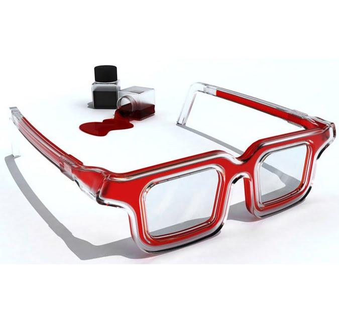 Orderan Blog: The RbG Rainbow Eyeglasses By Luis Porem.