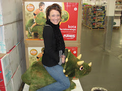 Just a Big Kid at Heart!  Playing with the toys at Costco :)