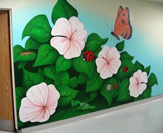 Pin hiasan kelas tadika genuardis portal on pinterest for Contoh lukisan mural tadika