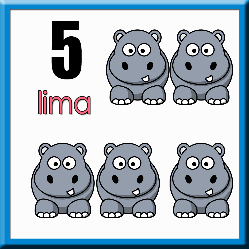 Mengenal Nombor 1-10 Nombor 1 Hingga 10