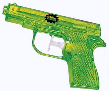 Englishman was captured for planning Water Gun fights on Facebook and Blackberry messenger