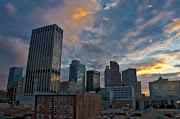 Atlanta Skyline Underground Sunrise HDR. Posted 19th July 2010 by Chris Burk
