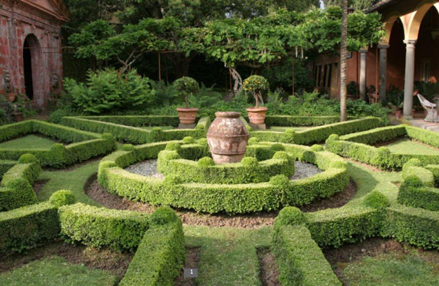 Garden of delights on pinterest hedges formal gardens for Garden design ideas with hedges