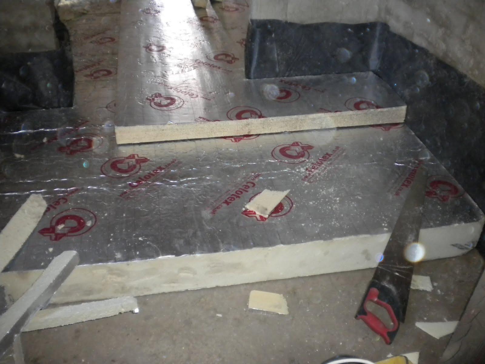 Concrete floating floor for Concrete floor insulation