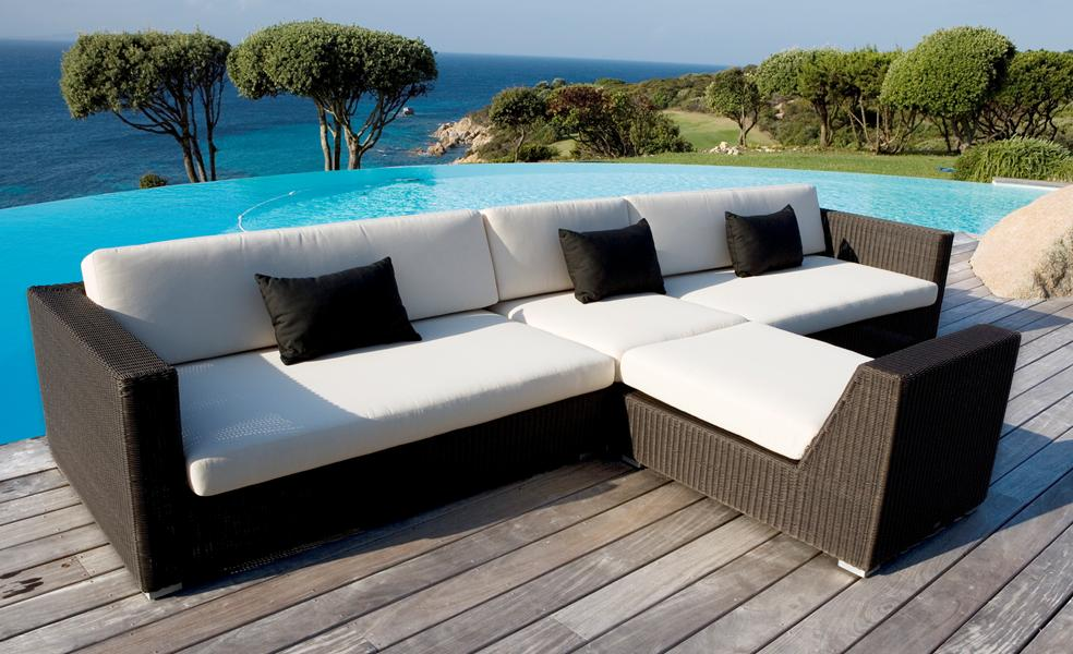Brighton Beach Modern Poolside Furniture Design and Picture