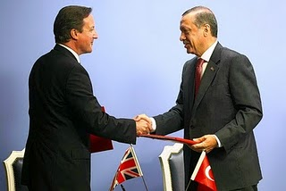 Cameron's Despicable Toadying to Turkey