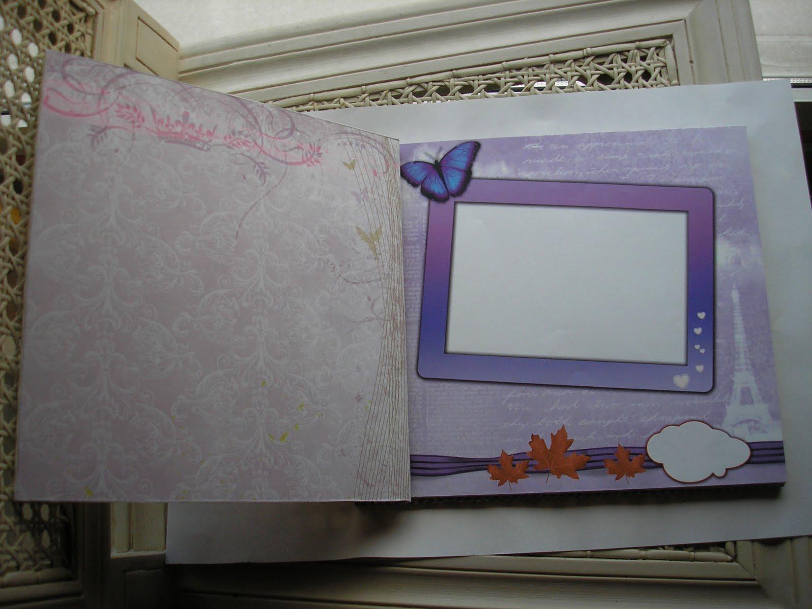 Como decorar un album de fotos por dentro imagui - Decorar album de fotos ...