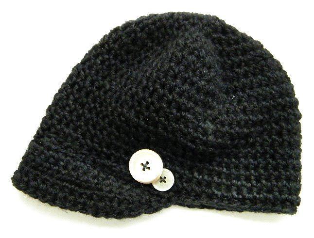 Free Baby Crochet Hat Patterns With Brim : Crocheted Hat With Brim ? Crochet Club