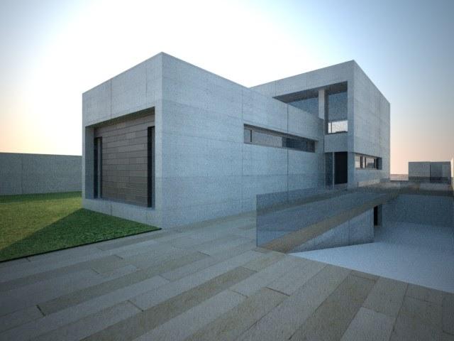 Mn arquitectos almeria proyecto de vivienda en el toyo - Arquitectos almeria ...