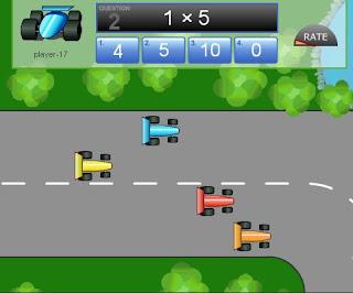 Grand Prix Multiplcation >> Ciao bambini: Tabelline: giochi on line