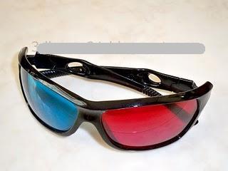 Nah, ternyata kacamata 3 dimensi tidak harus beli, Kita bisa ...