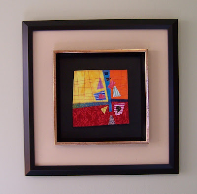 Carmen Rose Prose Framed Mini Quilts