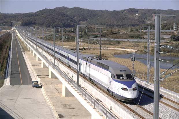 High-speed rail will dramatically reduce